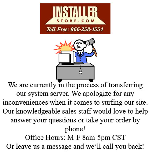 Installerstore Website Issues