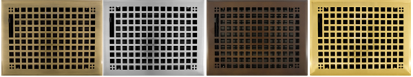 8x10 Decorative Floor Registers