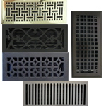 Installerstore - Metal Decorative Floor Register Vents