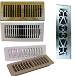 Installerstore Plastic Floor Register Vents