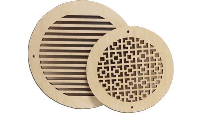Round Decorative Wall Vents