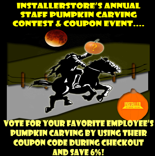 Halloween Installerstore Coupon Code Event